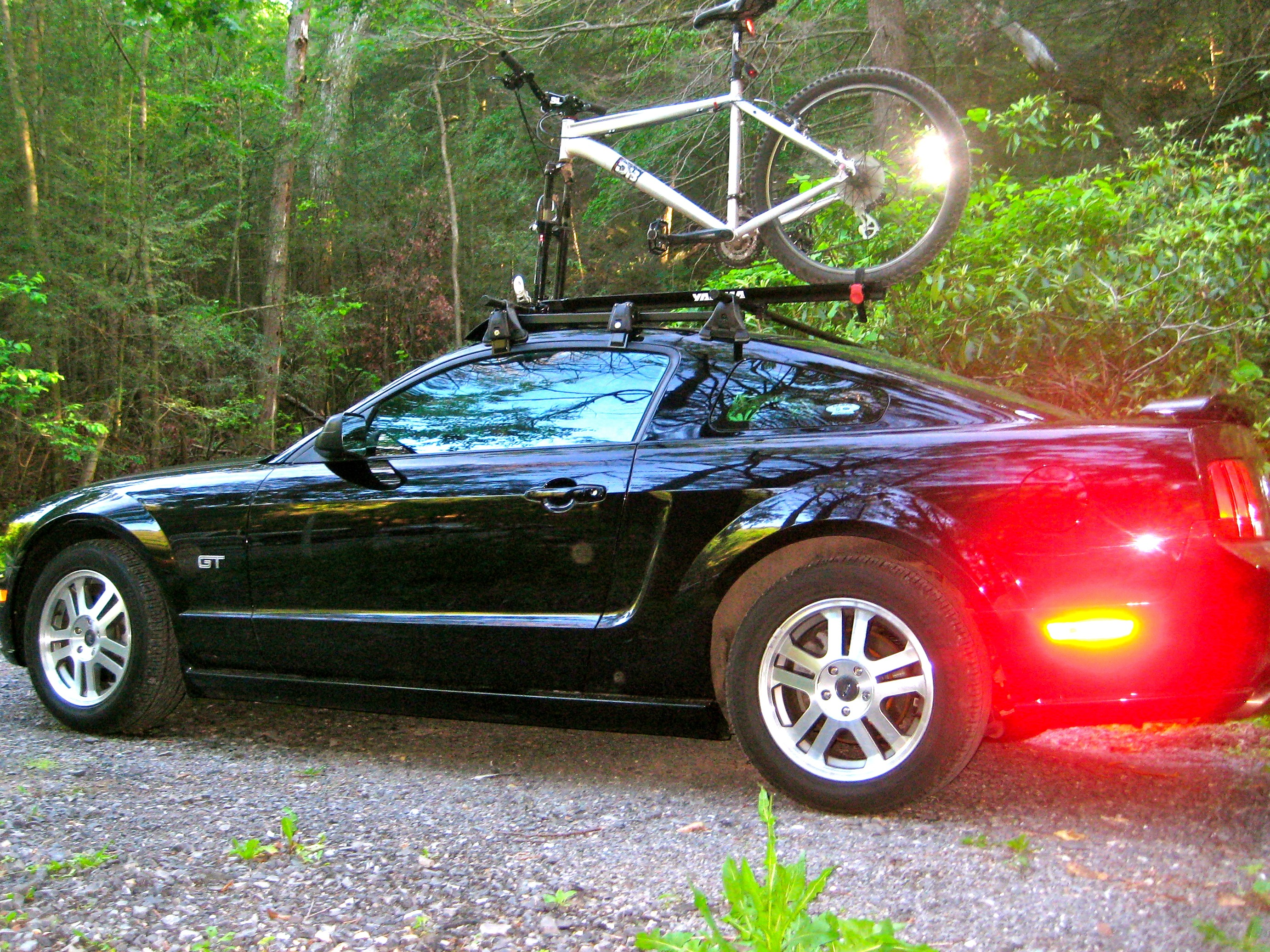 Mustang Roofrack Profile