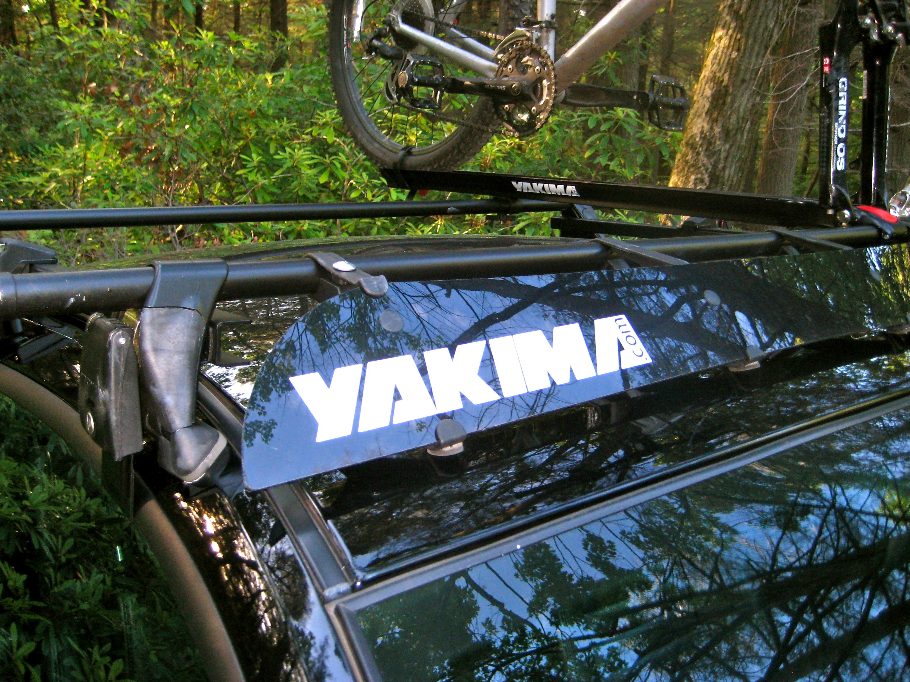 outdoorplay roof yakima jayhook rack installed kayak com