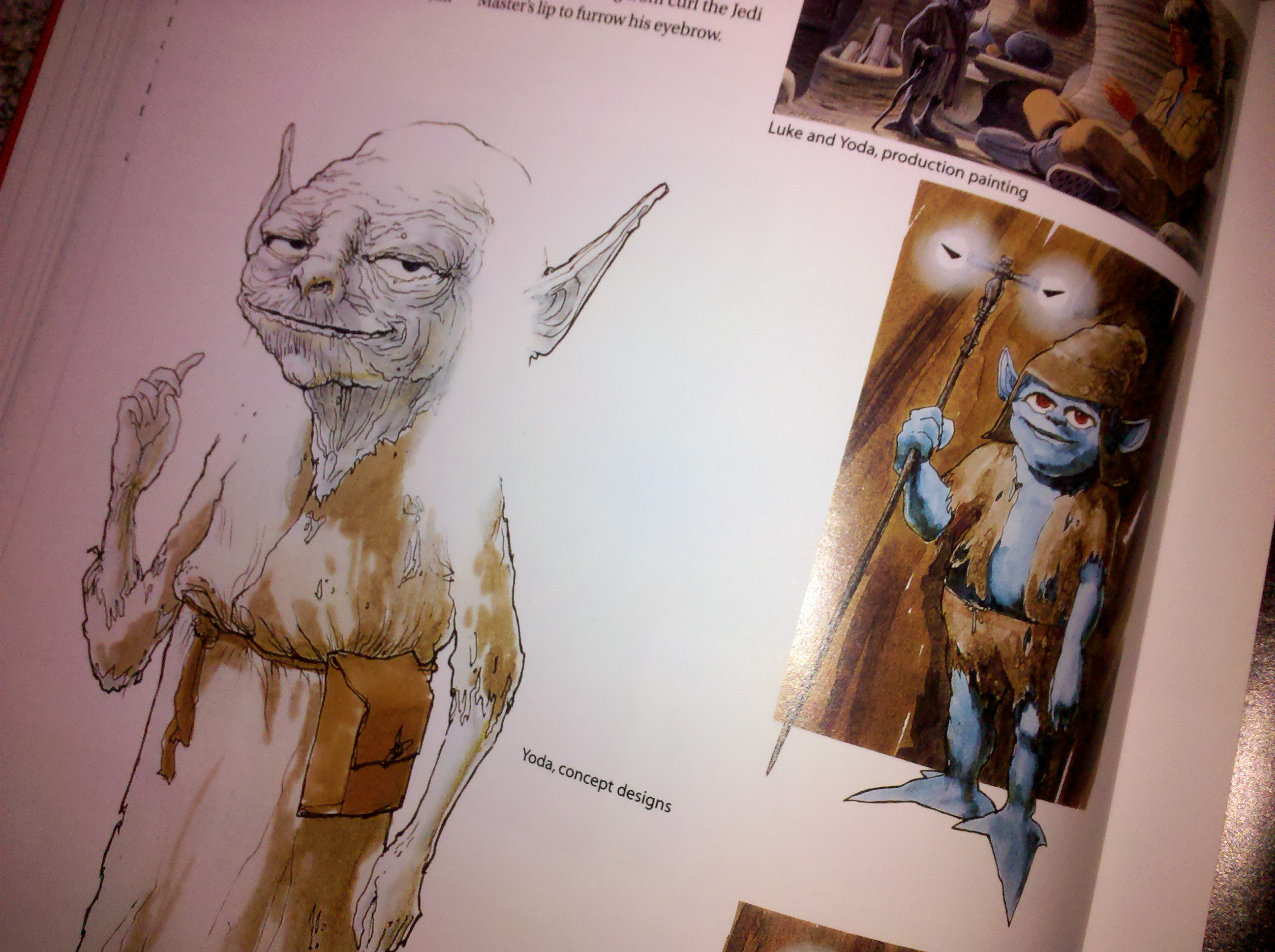 Yoda Character Design : Concept art storyboards things i m thankful for