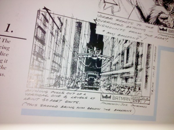 Batman Storyboard