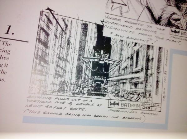 Batman Storyboard