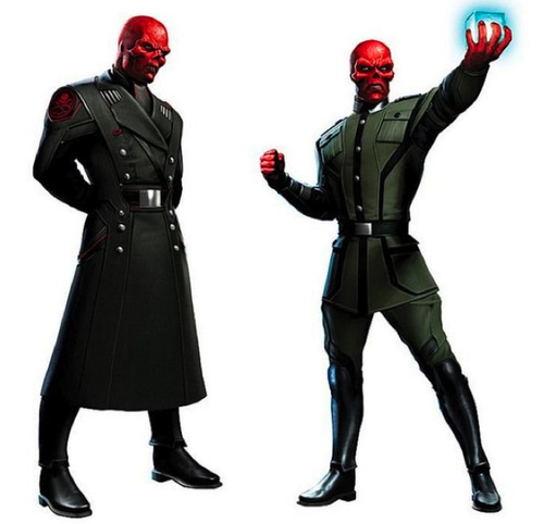 The Red Skull Concept Art